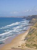 Costa Vincentina, Praia Do Castelejo and Cordama Beaches, Algarve, Portugal Photographic Print by Neale Clarke