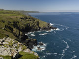 Coastline Near Zennor, Cornwall, England, United Kingdom, Europe Photographic Print by Rob Cousins