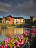 John's Quay and River Nore, Kilkenny City, County Kilkenny, Leinster, Republic of Ireland, Europe Photographic Print by Richard Cummins
