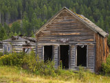 Elk Horn Ghost Town State Park, Boulder, Helena Region, Montana, USA Photographic Print by Richard Cummins