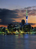 Skyline, Auckland, North Island, New Zealand, Pacific Photographic Print by Neale Clarke
