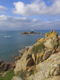 Corbiere Lighthouse, St. Ouens, Jersey, Channel Islands, United Kingdom, Europe Photographic Print by Neale Clarke