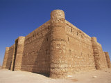 Exterior of Qasr Al-Harana, an Omayyad Desert Castle, Jordan, Middle East Photographic Print by Neale Clarke
