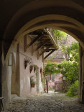 Alleyway, Sighisoara, Transylvania, Romania, Europe Photographic Print by Gary Cook