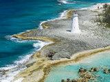 Paradise Island Lighthouse, Nassau Harbour, New Providence Island, Bahamas, West Indies Photographic Print by Richard Cummins