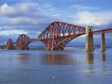 Forth Railway Bridge, Queensferry, Near Edinburgh, Lothian, Scotland, United Kingdom, Europe Photographic Print by Neale Clarke