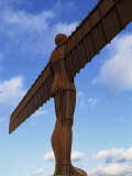Back View of the Angel of the North Statue, Newcastle Upon Tyne, Tyne and Wear, England, UK Photographic Print by Neale Clarke