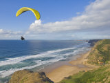 Paraglider, Costa Vincentina, Near Vila Do Bispo, Algarve, Portugal Photographic Print by Neale Clarke