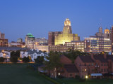 Buffalo City Skyline, New York State, United States of America, North America Photographic Print by Richard Cummins
