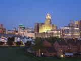 Buffalo City Skyline, New York State, United States of America, North America Photographic Print by Richard Cummins