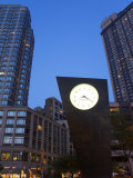 Timesculpture by Artist Philip Johnson, at Lincoln Center, Manhattan, New York City, New York, USA Photographic Print by Richard Cummins