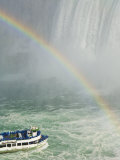 Maid of the Mist Tour under the Horseshoe Falls Waterfall, Niagara Falls, Ontario, Canada Photographic Print by Neale Clarke