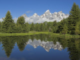 Cathedral Group of Mount Teewinot, Grand Teton National Park, Wyoming, USA Photographic Print by Neale Clarke