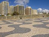 Promenade Above Praia Da Rocha Beach, Portimao, Algarve, Portugal Photographic Print by Neale Clarke