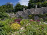 Traditional Cotswold Stone Cottages, Bibury, Gloucestershire, Cotswolds, England, UK Photographic Print by Neale Clarke
