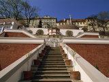 Ledeburska Garden, Palace Gardens, Prague Castle, Prague, Czech Republic, Europe Photographic Print by Neale Clarke