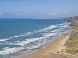 Costa Vincentina, Praia Do Castelejo and Cordama Beaches, Algarve, Portugal Photographic Print by Neale Clarke