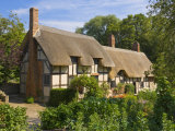 Anne Hathaway's Thatched Cottage, Shottery, Near Stratford-Upon-Avon, Warwickshire, England, UK Photographic Print by Neale Clarke