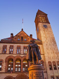 Major General Philip Schuyler Statue, Albany City Hall, New York State, USA Photographic Print by Richard Cummins