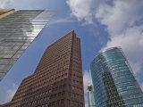 New Modern Buildings in Potsdamer Platz, Berlin, Germany, Europe Photographic Print by Neale Clarke