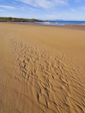 Patterns in the Sand at Redpoint Sandy Beach, Wester Ross, Scotland, United Kingdom, Europe Photographic Print by Neale Clarke