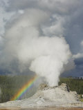 Eruption of Castle Geyser, Upper Geyser Basin, Yellowstone National Park, Wyoming, USA Photographic Print by Neale Clarke