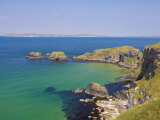 Carrick Island in Larrybane Bay, County Antrim, Ulster, Northern Ireland Photographic Print by Neale Clarke