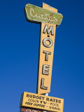 Cactus Motel, Route 66, Barstow, California, United States of America, North America Photographic Print by Richard Cummins