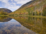Willey Pond, Crawford Notch State Park, White Mountains, New Hampshire, New England, USA Photographic Print by Neale Clarke