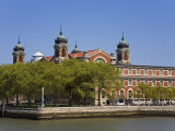 Ellis Island Immigration Museum, Lower Manhattan, New York City, New York, USA Photographic Print by Richard Cummins