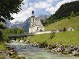Ramsau Church, Near Berchtesgaden, Bavaria, Germany, Europe Photographic Print by Gary Cook