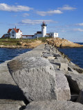 Eastern Point Lighthouse, Gloucester, Cape Ann, Massachusetts, New England, USA Photographic Print by Richard Cummins