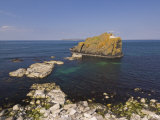 Stackaboy Island in Larrybane Bay, County Antrim, Ulster, Northern Ireland, UK Photographic Print by Neale Clarke