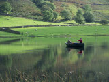 Fly Fishing, Watendlath Tarn, Lake District National Park, Cumbria, England, UK Photographic Print by Neale Clarke