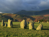 Castlerigg Stone Circle, Lake District National Park, Cumbria, England, UK Photographic Print by Neale Clarke