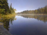 Hoe Lake, Boundary Waters Canoe Area Wilderness, Superior National Forest, Minnesota, USA Photographic Print by Gary Cook