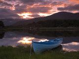 Boat, Upper Lake, Killarney National Park, County Kerry, Munster, Republic of Ireland, Europe Photographic Print by Richard Cummins