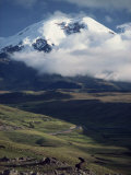 Snow Capped Mount Chimborazo in Ecuador, South America Photographic Print by Rob Cousins