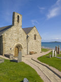 St. Hywyn's Church and Graveyard, Aberdaron, Llyn Peninsula, Gwynedd, North Wales, Wales, UK Photographic Print by Neale Clarke