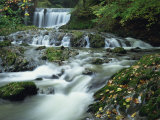 Stock Ghyll Beck, Ambleside in the Lake District, Cumbria, England, UK Photographic Print by Kathy Collins