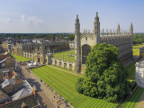 Kings College and Chapel, Cambridge, Cambridgeshire, England, United Kingdom, Europe Photographic Print by Neale Clarke