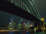 Sydney Harbour Bridge and Skyline, Sydney, New South Wales, Australia, Pacific Photographic Print by Neale Clarke