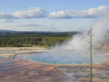 Grand Prismatic Spring, Midway Geyser Basin, Yellowstone National Park, Wyoming, USA Photographic Print by Neale Clarke
