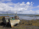 Wrecked Fishing Boats Near Salen, Isle of Mull, Inner Hebrides, Scotland, United Kingdom, Europe Photographic Print by Neale Clarke