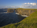 Cliffs Near Kilkee, Loop Head, County Clare, Munster, Republic of Ireland, Europe Photographic Print by Richard Cummins