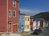Colourful Houses in St. John's City, Newfoundland, Canada, North America Photographic Print by Richard Cummins
