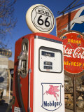 Gas Pump, General Store and Route 66 Museum, Hackberry, Arizona, USA Photographic Print by Richard Cummins