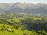 Transylvanian Alps, Near Fundata, Transylvania, Romania, Europe Photographic Print by Gary Cook