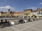Piata Sfatului, Brasov, Transylvania, Romania, Europe Photographic Print by Gary Cook