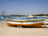 Fishing Boats and Beach, Hammamet, Tunisia, North Africa, Africa Photographic Print by Philip Craven